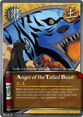 Anger of the Tailed Beast - J-648 - Uncommon - 1st Edition