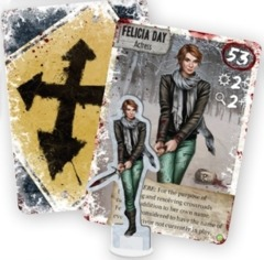 Dead of Winter Felicia Day Survivor Promo Pack - Geek and Sundry 2015 International Tabletop Day Promo