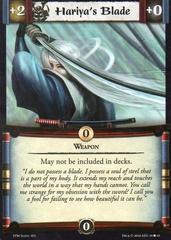 Hariya's Blade