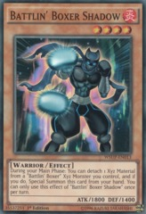 Battlin' Boxer Shadow - WSUP-EN013 - Super Rare - 1st Edition