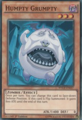 Humpty Grumpty - WSUP-EN037 - Super Rare - 1st Edition on Channel Fireball