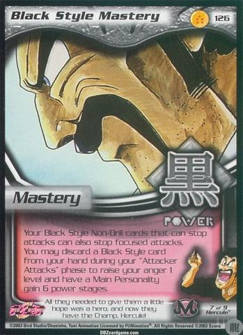 Buu Saga!! Dragon Ball Z CCG Black Style Mastery!
