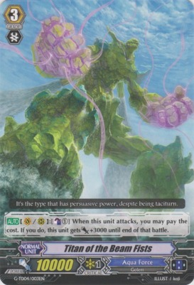 Titan of the Beam Fists - G-TD04/003