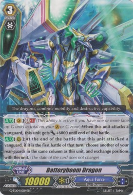 Batteryboom Dragon - G-TD04/004