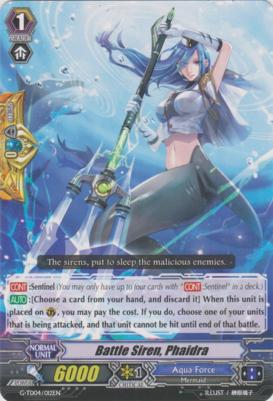 Battle Siren, Phaidra - G-TD04/012