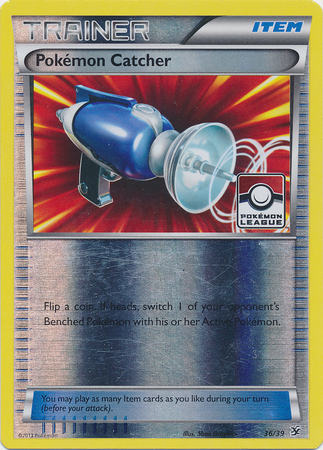 Pokemon Catcher - 36/39 - Promotional - Reverse Holo League Promo