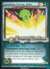 Namekian Energy Spike