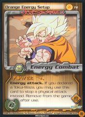Orange Energy Setup