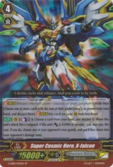 Super Cosmic Hero, X-falcon - G-EB01/S04EN - SP on Channel Fireball