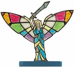 Stained-Glass Angel