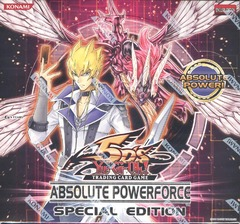 Yu-Gi-Oh Absolute Powerforce Special Edition Box