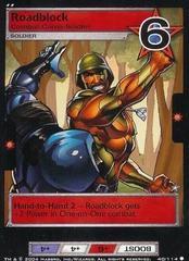 Roadblock, Combat Camo-Soldier