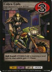 Cobra Coils, High-Speed Pursuit Driver