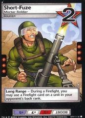 Short-Fuze, Mortar Soldier