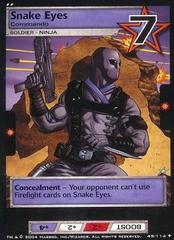 Snake Eyes, Commando
