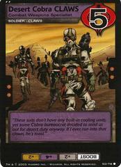 Desert Cobra CLAWS, Combat Weapons Specialist