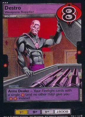 Destro, Weapons Supplier
