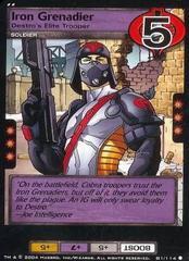 Iron Grenadier, Destro's Elite Trooper