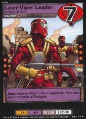 Laser-Viper Leader, Cobra Officer