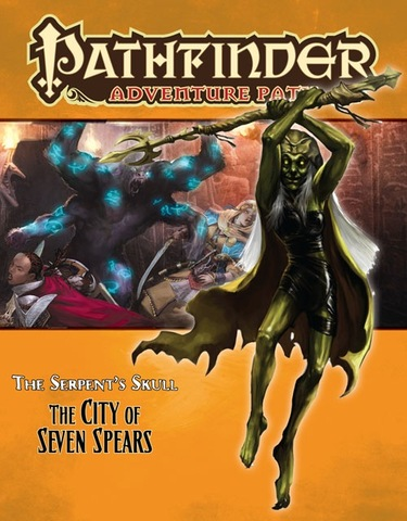 Pathfinder Adventure Path #39: The City of Seven Spears (Serpents Skull 3 of 6)