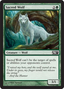 Sacred Wolf
