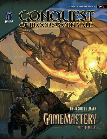 GameMastery Module W1: Conquest of Bloodsworn Vale