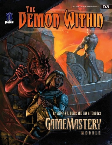GameMastery Module D3: The Demon Within