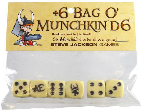 +6 Bag O Munchkin Dice