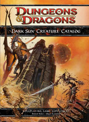 4e Dark Sun Creature Catalog