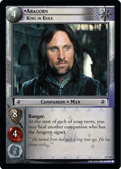 Aragorn, King in Exile