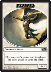 Avatar - Token (White) M11