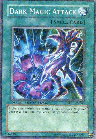 Dark Magic Attack - DT01-EN040 - Parallel Rare - Duel Terminal