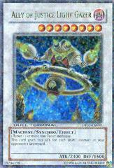 Ally of justice Light Gazer - DT01-EN090 - Ultra Rare - Duel Terminal