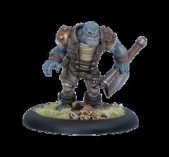 Grindak Bloodbreath, Trollkin Adventurer
