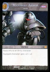 Mandroid Armor, Army