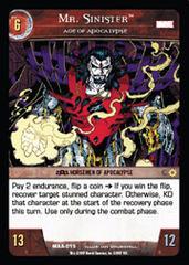 Mr. Sinister, Age of Apocalypse
