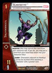 Hawkeye, Leader by Example