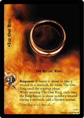 The One Ring, The Ruling Ring