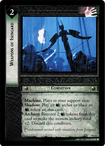 Weapons of Isengard