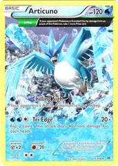 Articuno - 17/108 - Rare on Channel Fireball