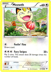Meowth - 67/108 - Common