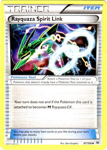 Rayquaza Spirit Link - 87/108 - Uncommon