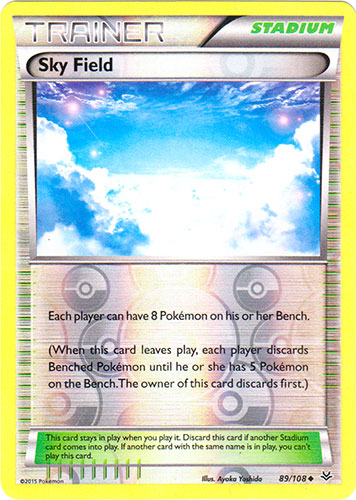 Sky Field - 89/108 - Uncommon - Reverse Holo