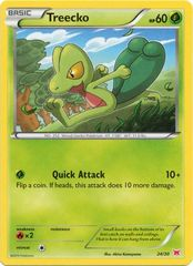 Treecko - 24/30 - XY Trainer Kit (Latias)