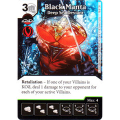 Black Manta - Deep Sea Deviant (Die & Card Combo Combo)