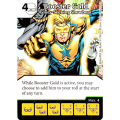 Booster Gold - Glory Seeking Showboat (Die & Card Combo Combo)