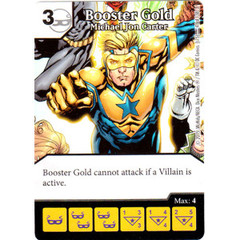 Booster Gold - Michael Jon Carter (Die & Card Combo Combo)