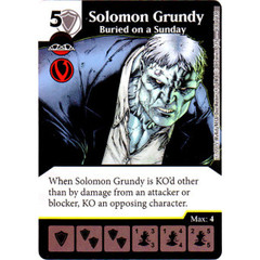 Solomon Grundy - Buried on a Sunday (Die & Card Combo Combo)