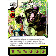 Lex Luthor - Billionaire Industrialist (Card Only)