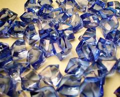 Gaming Crystals: Crystalline Counters (50) [Blue]